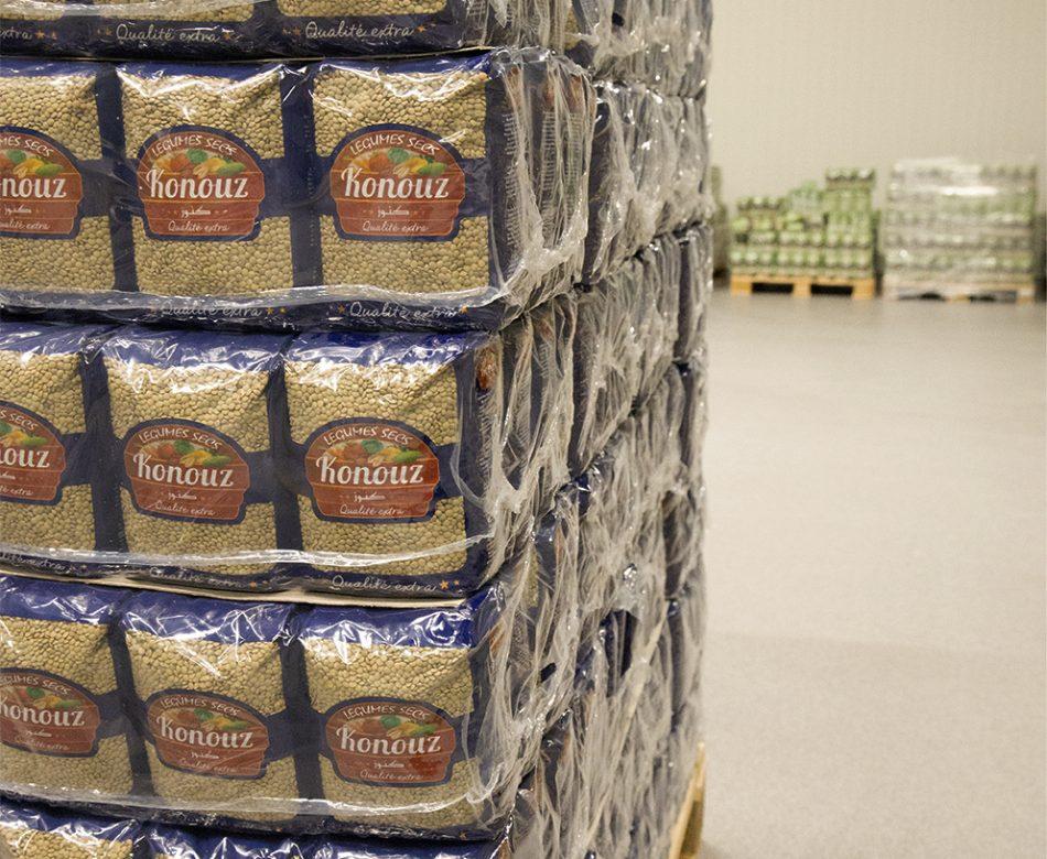 Eigen professioneel private label, etiketteren en verpakking met zorg. Elmofood gelegen te Antwerpen