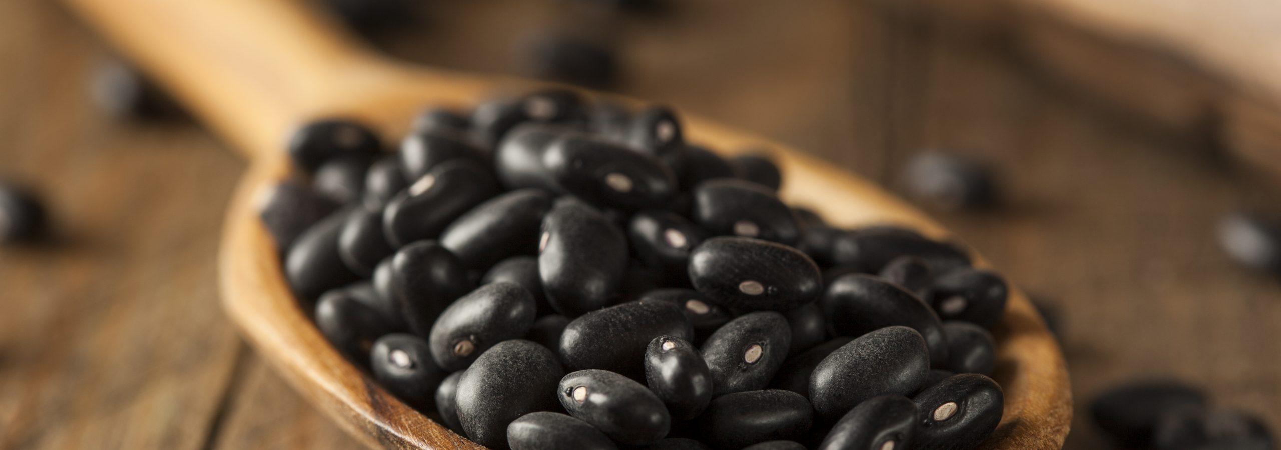 zwarte bonen verpakken