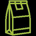 Verschillende verpakkingsmogelijkheden, Elmofood gelegen te antwerpen, internationaal actief. verpakken en etiketteren voor professioneel gebruik